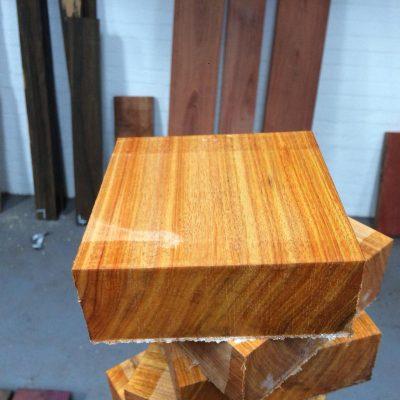 Canarywood 5x5x2 inches