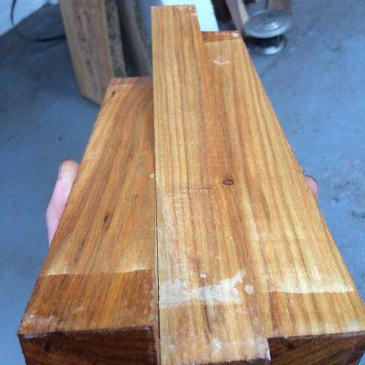 Canarywood 1.5x1.5x12 inches