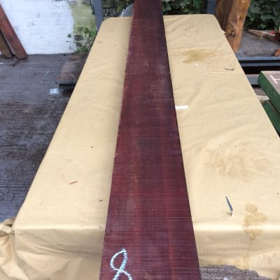 Bloodwood 111x7.75x2 inches