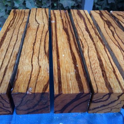 Marblewood 2x2x12 inches
