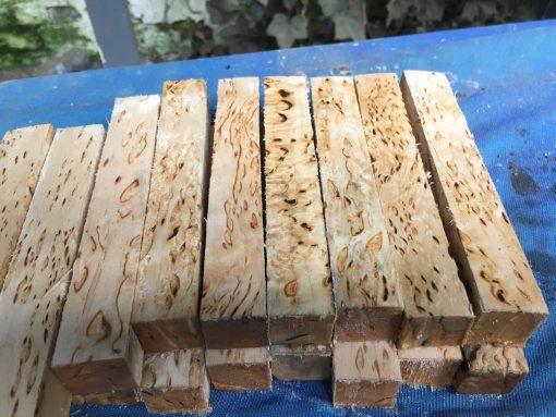 Masur Birch Pen Blank 22x22x150 mm