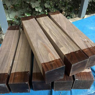 American Walnut 2x2x12 inches