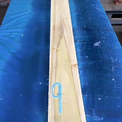 Tulipwood / Poplar S/E 49.5x5.5x1 inch