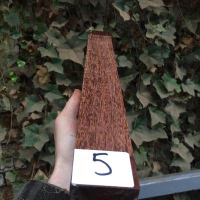 Granadillo 2x2x18 inches