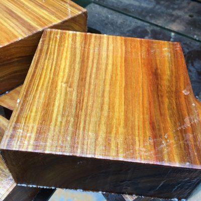 Canarywood 130x130x50 mm