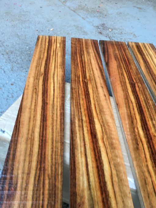 Chechen (Caribbean Rose) Fretboard 570x70x8-10 mm