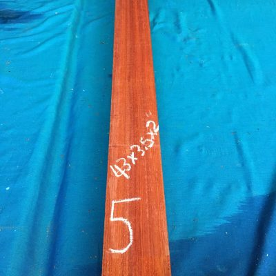 Bloodwood 43x3.5x2 inches