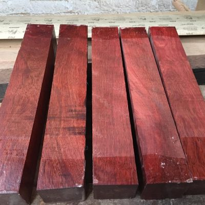 Bloodwood 2x2x12 inches