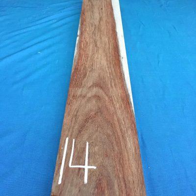 Kiaat 39x6x1 inches KL14