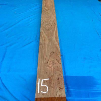 Kiaat 79x6x1 inches