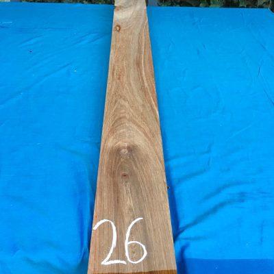 Kiaat 79x6x1 inches KL26