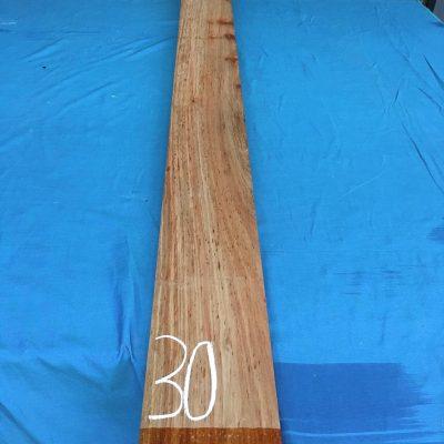 Kiaat 79x6x1 inches KL30