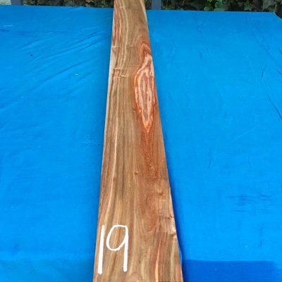 Kiaat 79x6x1 inches KL19