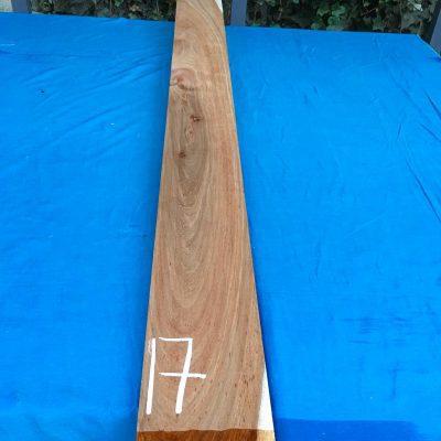 Kiaat 79x6x1 inches KL17