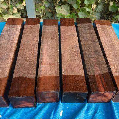 Katalox (mexican ebony) 2x2x12 inches