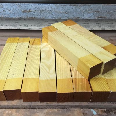 Osage Orange 2x2x12 inches
