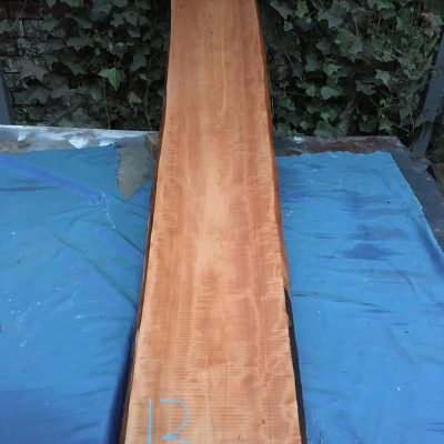 Pearwood 80x11.5x1.25 inches (32-33mm)