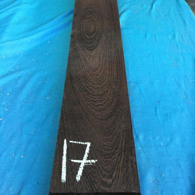Wenge 44.5x7.5x1 inches