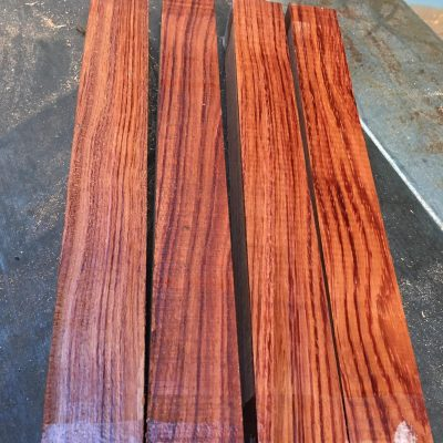 Bubinga 1.5x1.5x12 inches