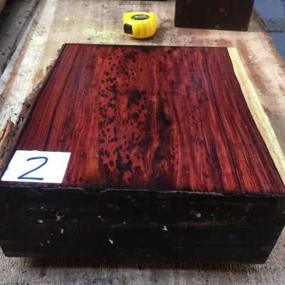 Cocobolo 10x10x4 inches