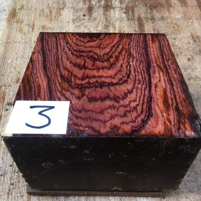 Cocobolo 6x6x4 inches
