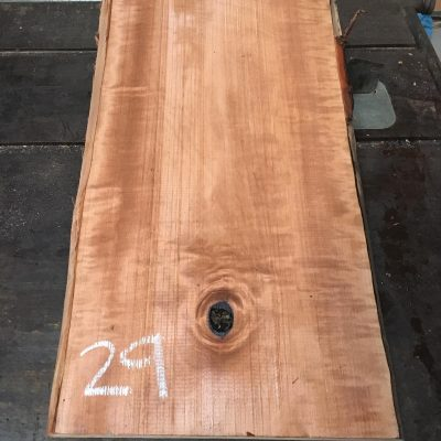 Pearwood 20x10.5x1.25 inches