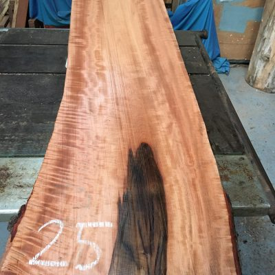 Pearwood 40x13x1.25 inches