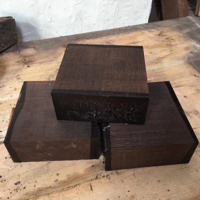 Wenge 6x6x2.5 inches