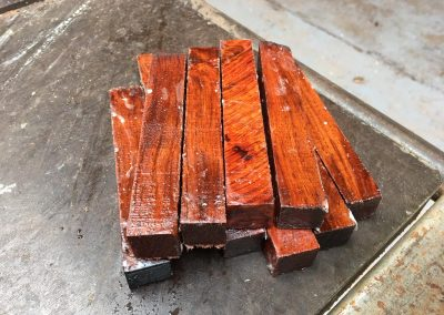 Amboyna Pen Blank 21x21x130 mm
