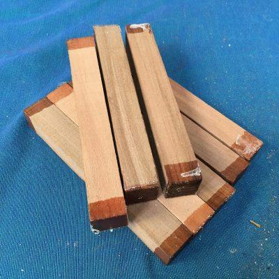 Amboyna Pen Blank 21x21x150 mm