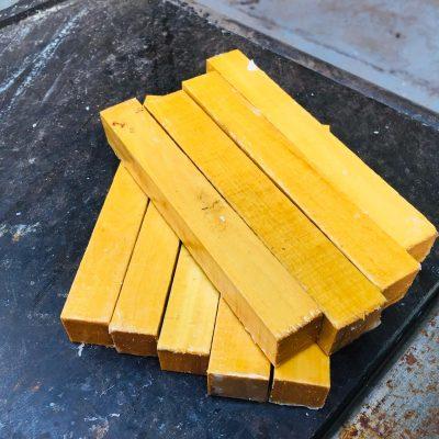 Pau Amarello Pen Blank 21x21x150 mm