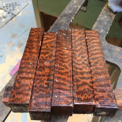 Snakewood Pen Blank 21x21x130 mm