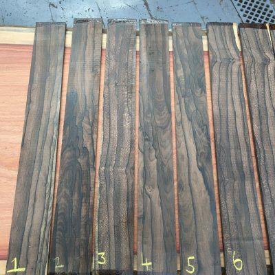 Ziricote Fretboard 570x70x9-10 mm