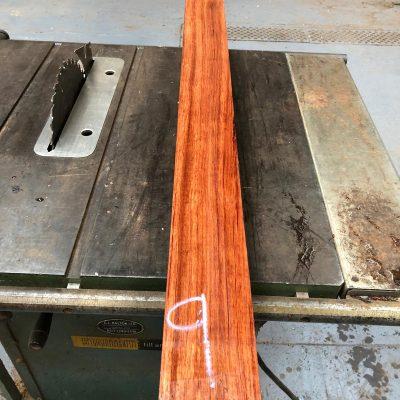 Bubinga 44x4x3 inches