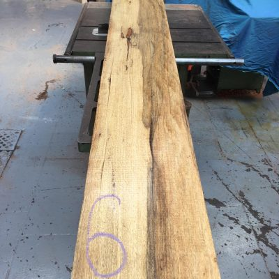 Black Limba / Korina 84x10x2 inches