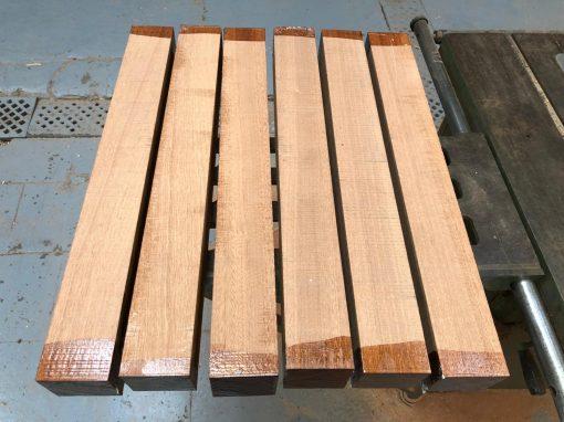 Sapele 3x3x24 inches