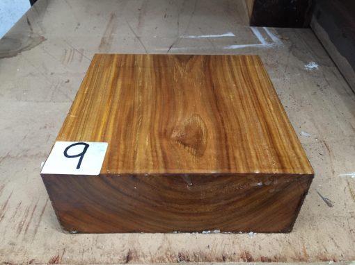 Canarywood 8x8x3 inches
