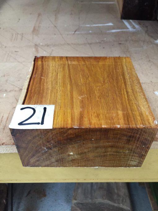 Canarywood 6x6x3 inches