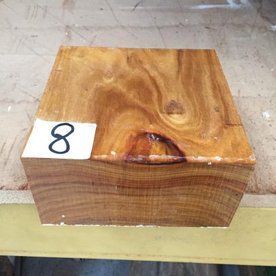 Canarywood 6x6x3 inches