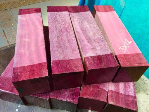 Purpleheart 3x3x12 inches
