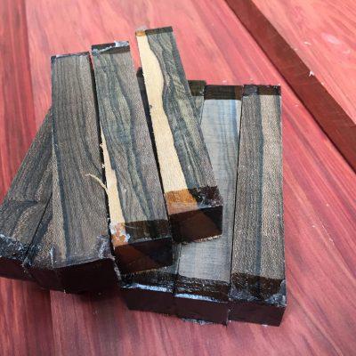 Ziricote Pen Blank 21x21x130 mm