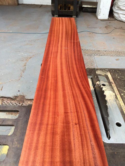 Bubinga 88.5x8.5x3 inches