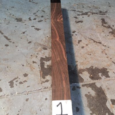 Asian Striped Ebony 1.5x1.5x18 inches