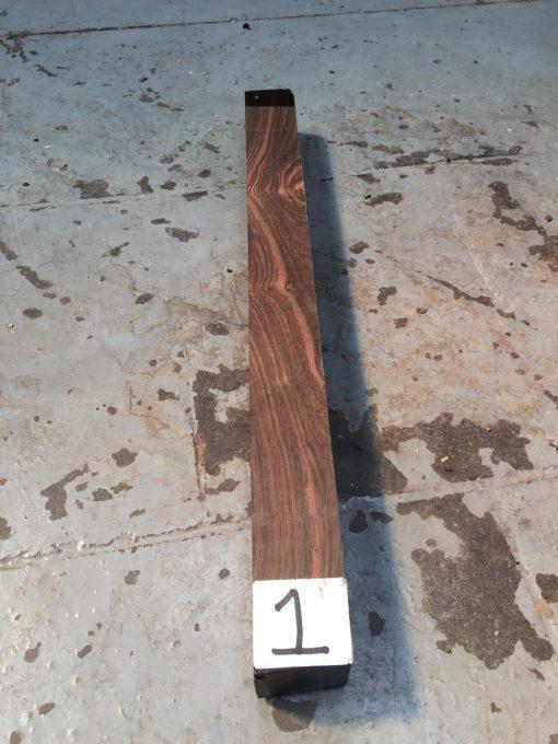 Asian Striped Ebony 1.5x1.5x18 inches