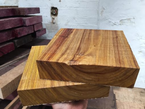 Canarywood 8x8x2 inches