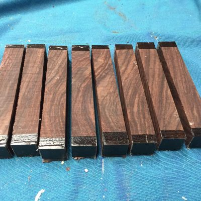 Indian Rosewood Pen Blank 21x21x130 mm