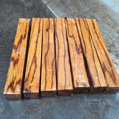Marblewood Pen Blank 21x21x150 mm