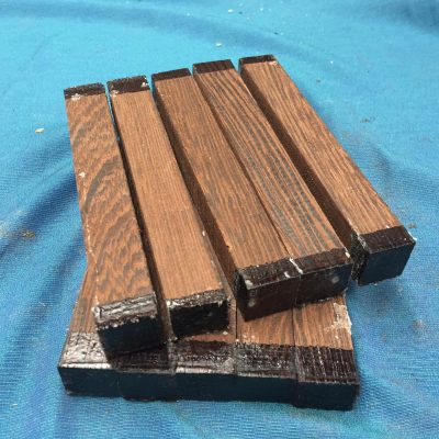 Wenge Pen Blank 21x21x150 mm