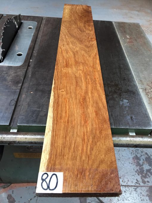 Kiaat 40x6x1 inches