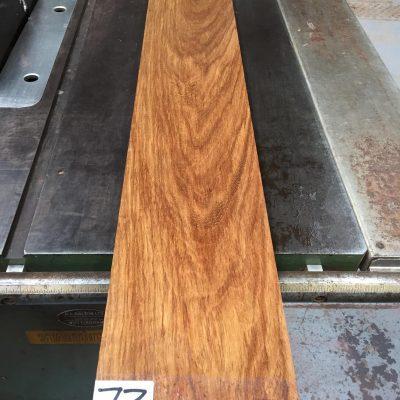 Kiaat 39.25x6x1 inches